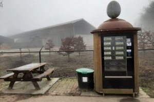 Eierautomaten sneller leeg in coronatijd