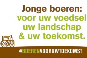 Jonge landbouwers willen een toekomst in Vlaanderen